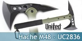 Hache et Boussole Tomahawk - Hachette M48 - UC2836