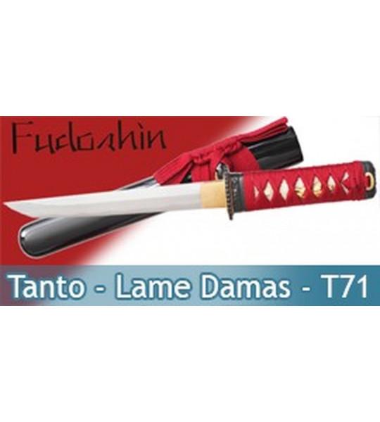 Tanto Fudoshin Lame Damas - Tanto T71