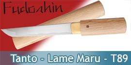 Tanto Fudoshin - Lame Maru - Tanto T89