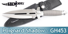 Poignard Double Shadow - Gil Hibben - GH453