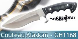 Couteau Alaskan - Gil Hibben - GH1168