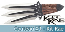 Couteau X3 Kit Rae - KR0057