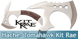 Hache Tomahawk - Kit Rae - KR0055