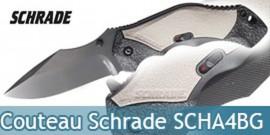 Couteau Schrade SCHA4BG - Grey Edition
