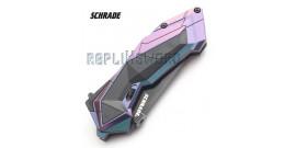 Couteau Schrade - SCHA3CBS - Blue Edition