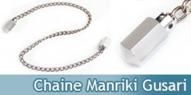 Chaine Ninjutsu Manriki Gusari - Silver