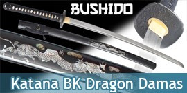 Bushido - Katana Black Dragon - Damas