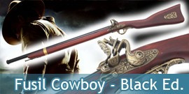 Fusil Cowboy Black Edition