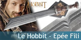 Le Hobbit Fili Epée + Plaque UC2953 United cutlery