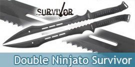 Double Ninjato Survivor Epée