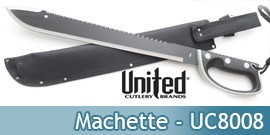Machette - Sawback - United Cutlery UC8008