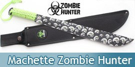 Machette Zombie Hunter Death ZB-006