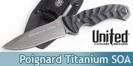 Couteau SOA Titanium Assault UC2804