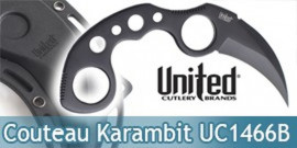 Undercover Couteau Karambit United Cutlery UC1466B