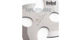 Black Ronin Shuriken Silver UC2683 United Cutlery