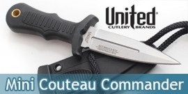 Mini Couteau Combat Commander UC2725 United Cutlery