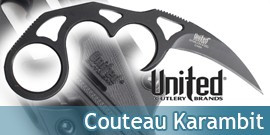 Couteau Karambit Undercover Sonic UC2732B