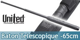 Baton Telescopique Night Watchman 65cm