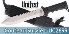 Poignard UNITED CUTLERY Survival Explosion UC2699