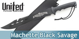 Machette Black Savage Hunter BV124 United Cutlery