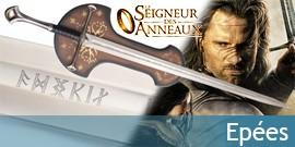 Epées Seigneur des Anneaux