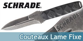 Couteaux Schrade a Lame Fixe