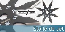 Shurikens Perfect Point, Etoile de Jet - Repliksword