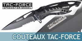 Couteau de la marque Tac Force, Tactique Couteau Master Cutleru - Repliksword