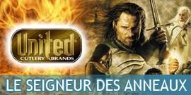 Le Seigneur des Anneaux Produits Dérivés, Répliques Epées United Cutlery, Epée Anduril, Bijoux Arwen - Repliksword