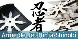Arme de Jet de Ninja, Etoiles a Lancer de Shinobi, Kunais Ninjas - Repliksword