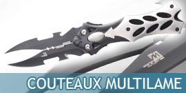 Couteaux Multilame, Couteaux Fantastiques, Couteaux Fantasy - Repliksword